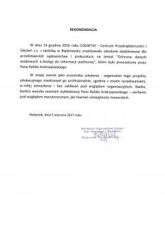 Sąd Rejonowy Białystok (ODO)