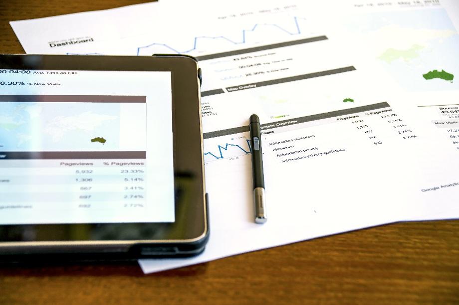 Digital marketing on the tablet